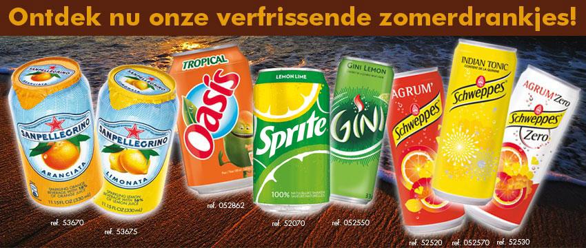 Ontdek nu onze verfrissende zomerdrankjes!