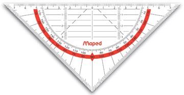 Maped geodriehoek Geo-Flex