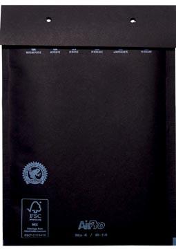 Luchtkussenenveloppen 180x265 mm, doos van 100 stuks, zwart