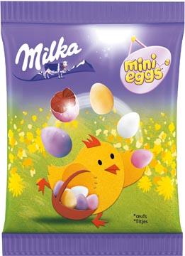 Milka zakje met mini eitjes, 100 gr