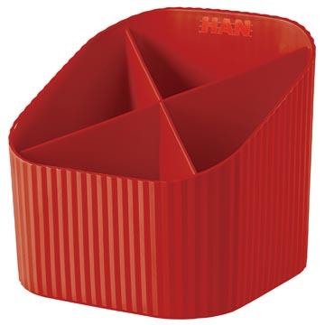 Han X-Loop pennenbakje rood