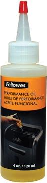 Fellowes olie voor papiervernietigers, 120 ml