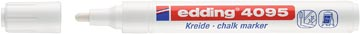 Edding Krijtmarker e-4095 wit