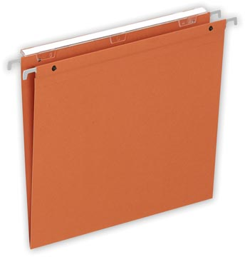 Pergamy Medium Flex hangmap ft A4, V-bodem, oranje