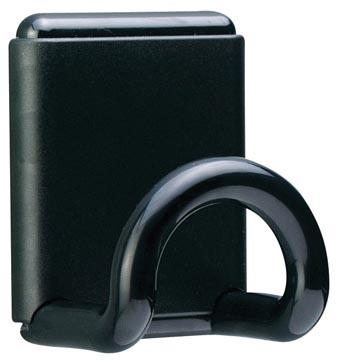 Unilux muurkapstok uit ABS, magnetisch, 1 haak
