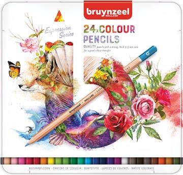 Bruynzeel kleurpotloden Expression, doos van 24 stuks