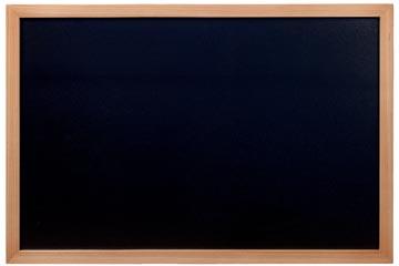 Securit krijtbord Woody ft 60 x 80 cm, teak