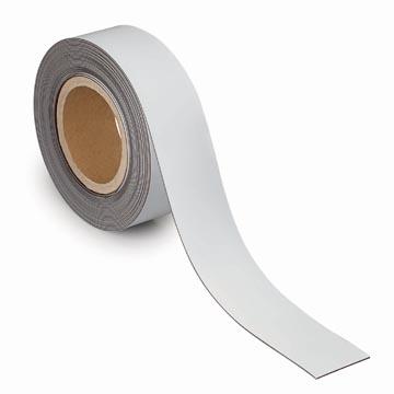 Maul magnetische etiketband, wisbaar, ft 10 m x 50 mm x 1 mm