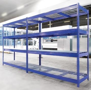 Avasco rek Industrie, ft 180 x 180 x 60 cm, 4 legborden, uit metaal