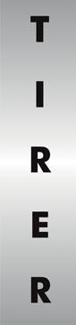Stewart Superior zelfklevend pictogram tirer