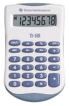 Texas zakrekenmachine TI-501
