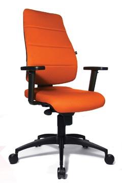 Topstar bureaustoel Syncro Soft, oranje