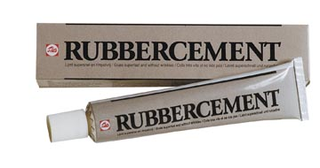 Talens rubbercement (fotolijm) tube van 50 ml