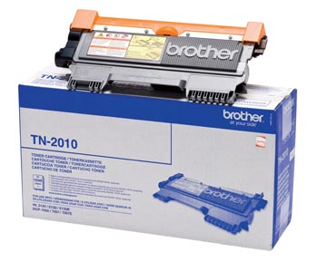 Brother toner, 1.000 pagina's, OEM TN-2010, zwart