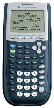 Texas grafische rekenmachine TI-84 Plus, teacher pack met 10 stuks
