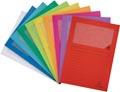 Exacompta L-map Forever, voor ft A4, pak van 25 stuks, geassorteerde kleuren